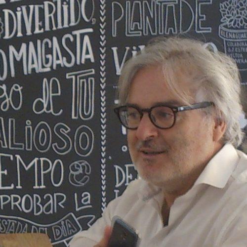 Bernardo Bersabé Morán fundador de Bookartis