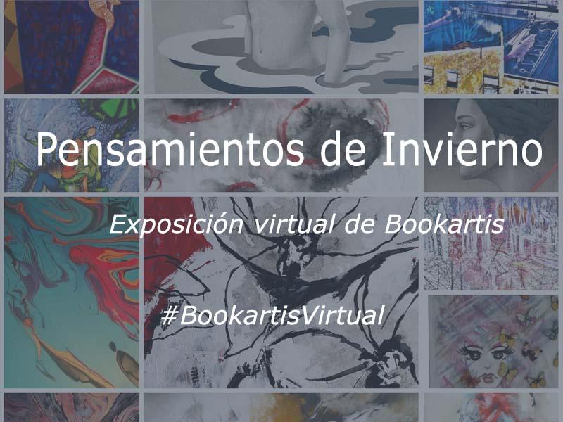 exposiciones virtuales arte - Bookartis - Pensamientos de Invierno