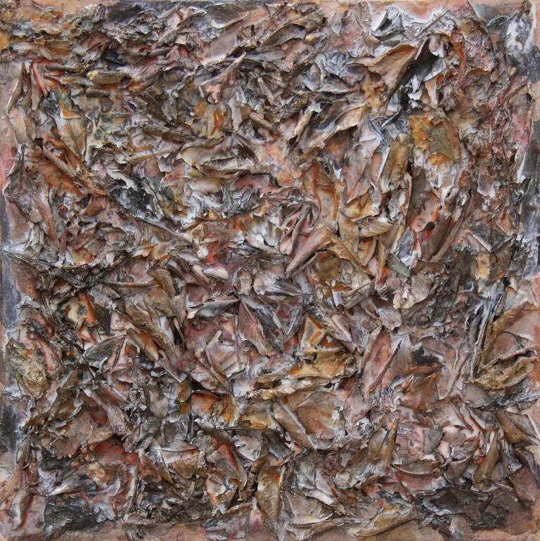 Tardor I t mixta lienzo 40x40 cm (8)