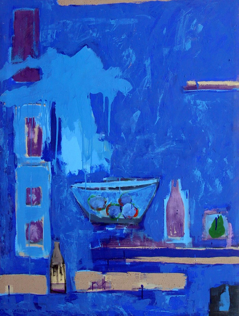 Bodegón-1998 acrílico-lienzo 130x97 cm