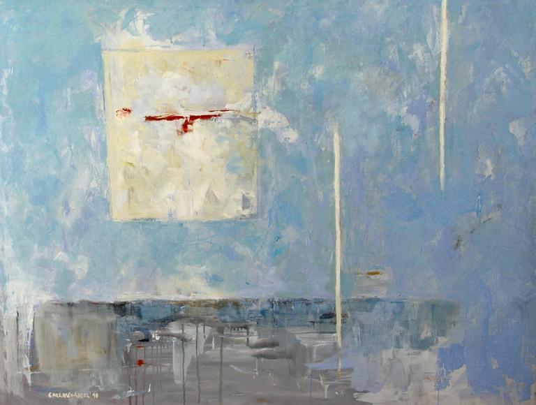 El Mar-2002 óleo-lienzo 116x89 cm