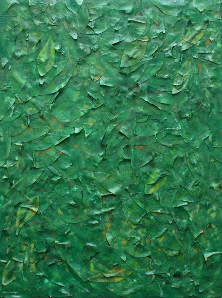 Verde Apócrifo II t mixta lienzo 97x130 cm (13)
