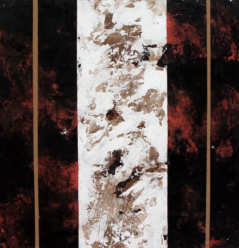 Pintura-2006 mixta-lienzo 40x40 cm