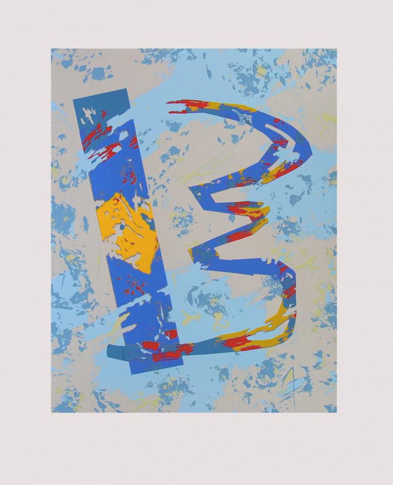Broken- 2002 Fabriano 65x50-serigrafía
