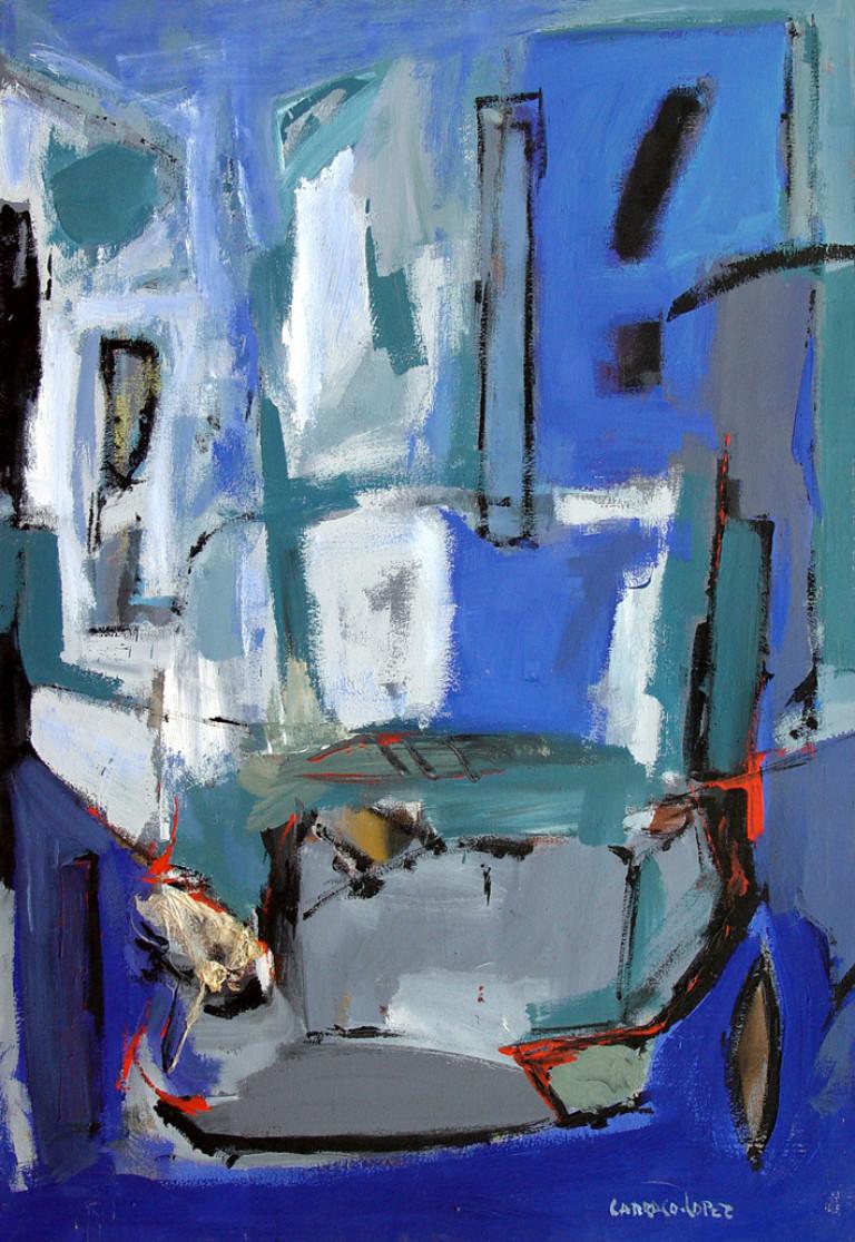 Interior-1998 acrílico-lienzo 130x97 cm