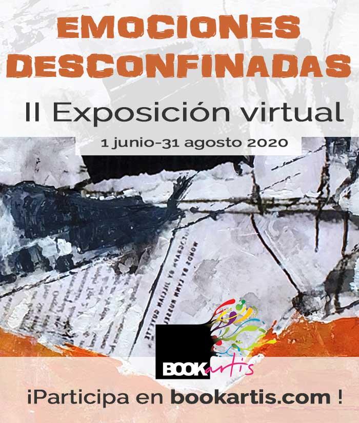 exposicion virtual online de arte 2020 de Bookartis